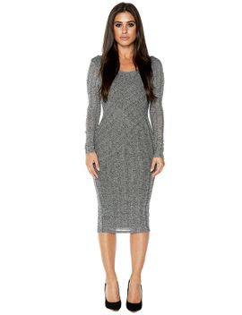 its-so-grey-to-see-u-dress by naked-wardrobe