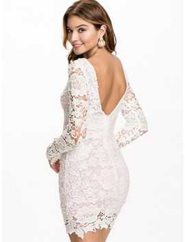 contrast-crochet-bodycon by club-l