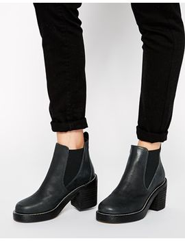 asos-enter-the-dragon-chelsea-leather-ankle-boots by asos-collection