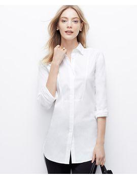 oversized-tuxedo-shirt by ann-taylor