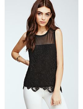 baroque-lace-overlay-top by forever-21