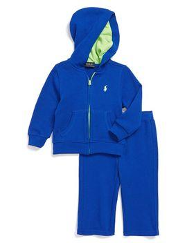 fleece-lined-full-zip-hoodie-&-sweatpants by ralph-lauren