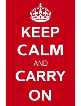 keep-calm-and-carry-on-motivational-red-art-11x17-poster by ebay-seller