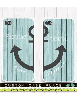 best-friends-phone-case-wood-anchor-best-friends-case-iphone-6_6s,-iphone-5_5s,-iphone-se,-samsung-iphone7-iphone-7 by customcaseplace