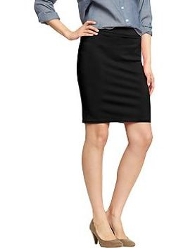 womens-stretch-pencil-skirts by old-navy