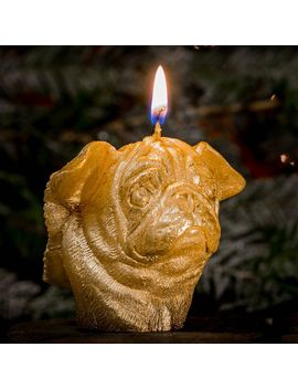 winged-pug-candle by pugs-might-fly