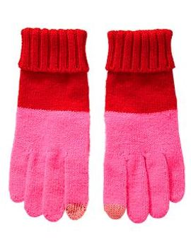womens-patterned-knit-gloves by old-navy