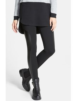 quilted-panel-ponte-leggings by nordstrom