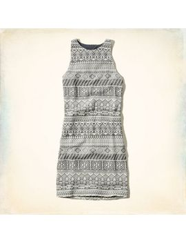 hammerland-jacquard-bodycon-dress by hollister