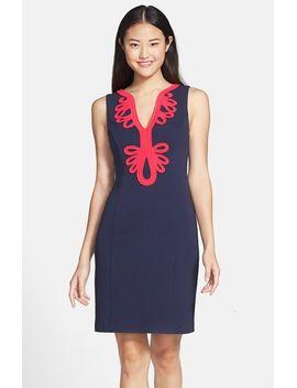 janice-soutache-trim-shift-dress by lilly-pulitzer®