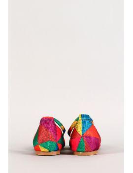 rainbow-t-strap-round-toe-flat by urbanog