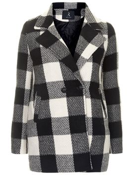**monochrome-check-wool-blend-jacket-by-rare by topshop