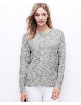 side-zip-sweatshirt by ann-taylor