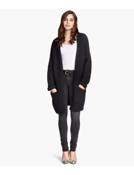 rib-knit-cardigan by h&m