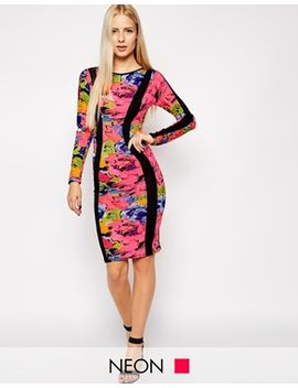 club-l-side-panel-midi-dress by dress