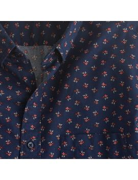 secret-wash-shirt-in-navy-floral by jcrew
