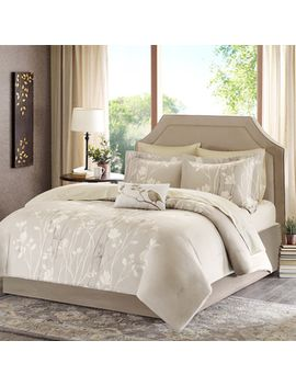 madison-park-essentials-sonora-taupe-complete-comforter-and-cotton-sheet-set by madison-park