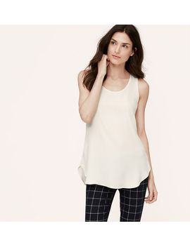 sleeveless-tunic-blouse by loft