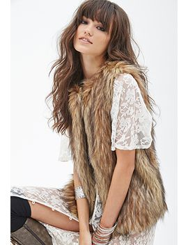 shaggy-faux-fur-vest by forever-21