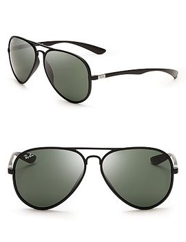thermoplastic-aviator-sunglasses,-58mm by ray-ban