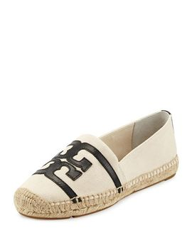 double-t-canvas-espadrille-flat by tory-burch