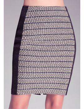 caroline-tweed-pencil-skirt by bebe
