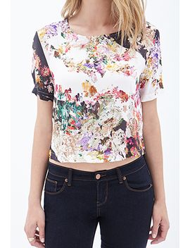 contemporary-boxy-floral-print-top by forever-21