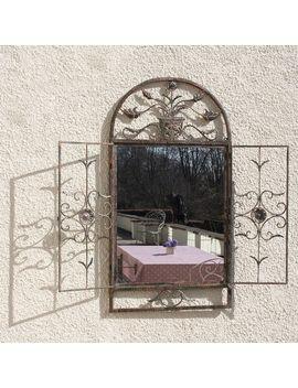 floral-garden-window-mirror by decorative-mirrors-online