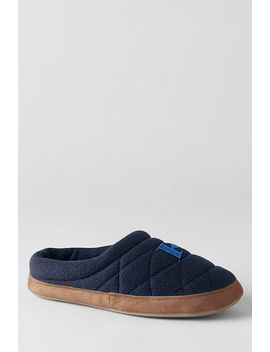 womens-fleece-clog-slippers by lands-end