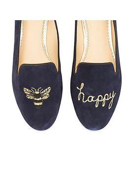 Bee Happy Smoking Slipper by Cwonder