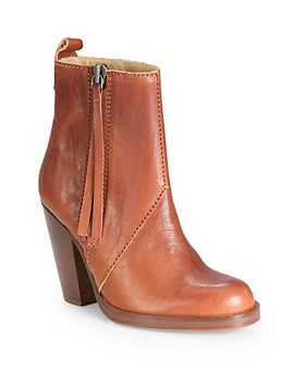 colt-leather-booties by acne-studios