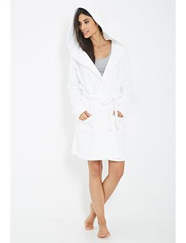 plush-self-tie-robe by forever-21