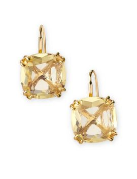 cushion-drop-earrings---citron by stella&dot