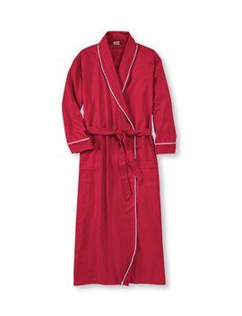 scotch-plaid-flannel-robe by llbean