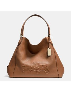 embossedhorse-and-carriage-large-edie-shoulder-bag-in-pebble-leather by coach