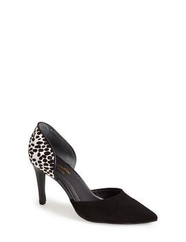 majestic-mixed-texture-dorsay-pump by seychelles
