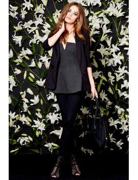 glamorous-weekend-seminar-black-blazer by glamorous
