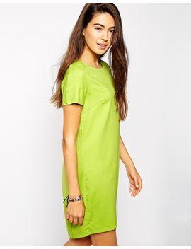 ax-paris-shift-dress-with-slight-dip-back-hem by casual-dress