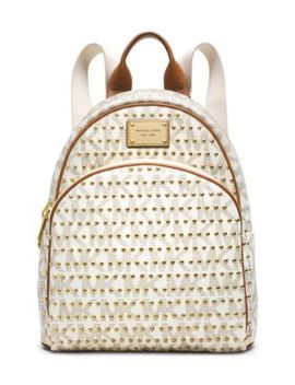 jet-set-travel-small-studded-logo-backpack by michael-kors