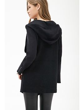 hooded-multi-knit-jacket by forever-21