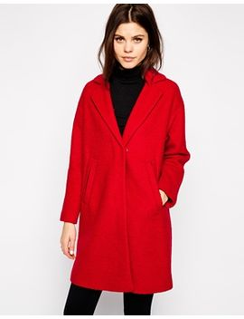 warehouse-boucle-coat by warehouse