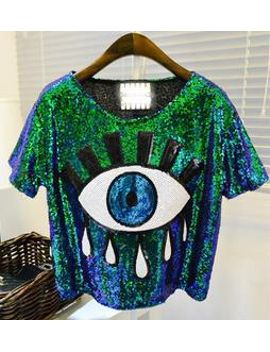 womens-tops-fashion-2014-new-crop-tops-loose-summer-short-tops-sequins-big-eye-sexy-sequined-eyes-t-shirt-casual-free-shipping by ali-express