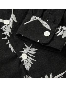 embroidered-cotton-and-wool-blend-shirt by our-legacy