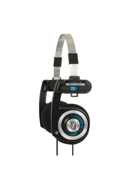 koss-porta-pro-on-ear-headphones-with-case,-black-_-silver by koss