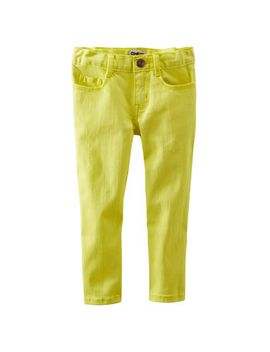 crop-skinny-twills by oshkosh