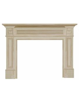 pearl-mantels-classique-fireplace-mantel,-50-inch,-unfinished by pearl-mantels