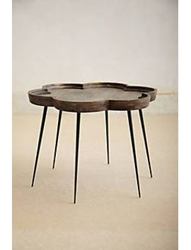 handcarved-elatus-table by anthropologie