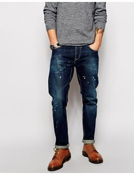 asos-straight-jeans-in-selvage by asos