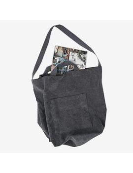 corduroy-tote-with-shoulder-strap by goroke