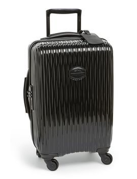 fairval-four-wheel-hard-shell-carry-on by longchamp